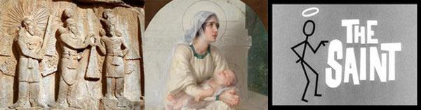 Emperor Ardashir, Mary with Jesus, The Saint