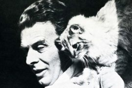 Huxley and cat
