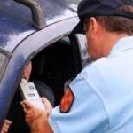 Police stops car