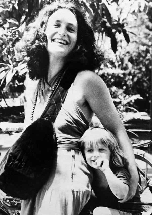 Priya with son