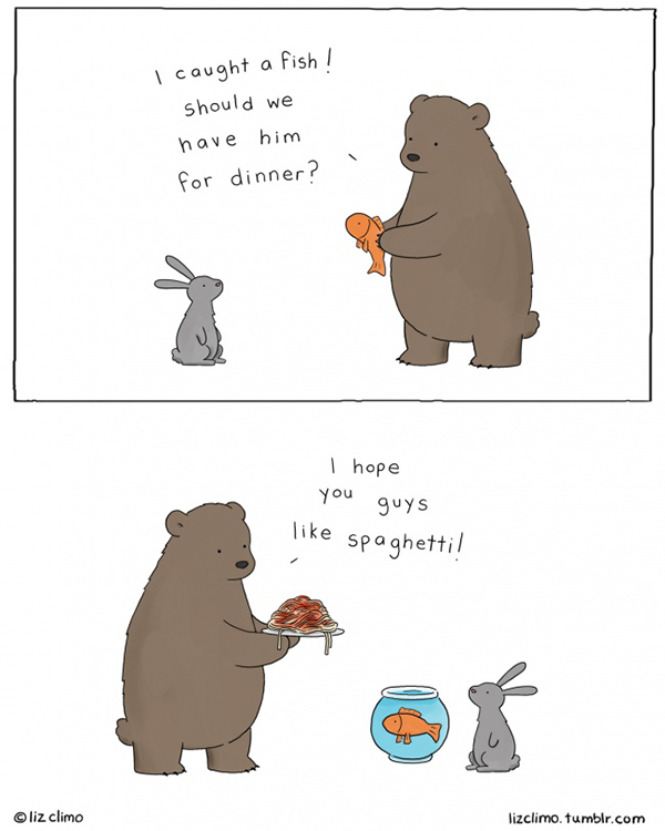 I caught a fish by Liz Climo