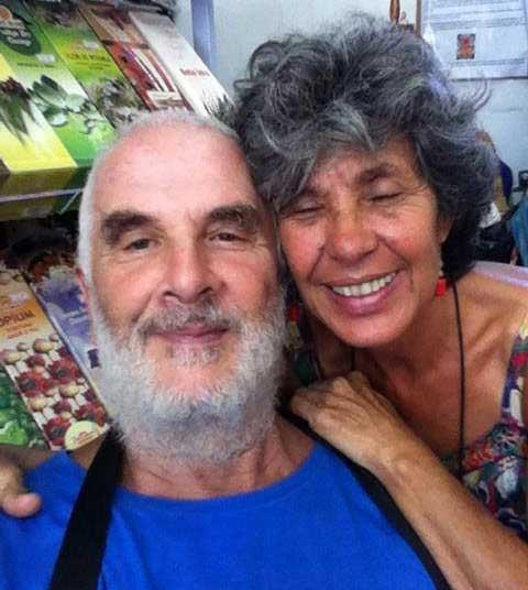 Rajo with Upeksha from Brazil