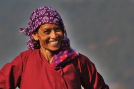 Woman in Kumaon Feat
