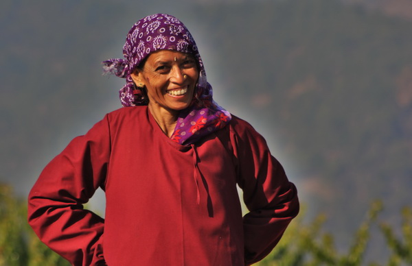 Woman in Kumaon