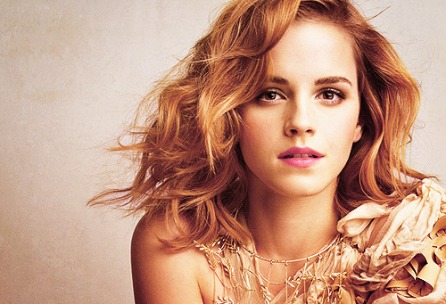 050 English actress and model Emma Watson