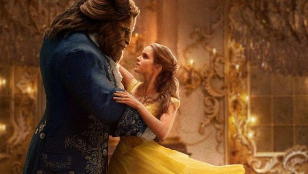 080 Emma Watson as Belle and Dan Stevens YES