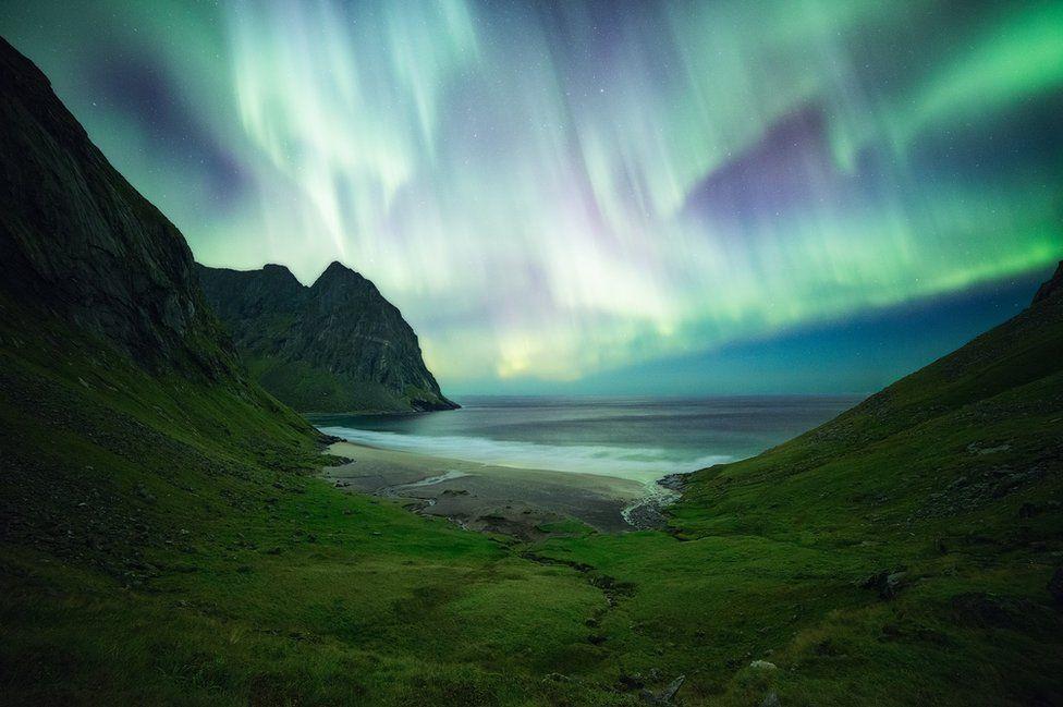 Lofoten Islands, in Norway