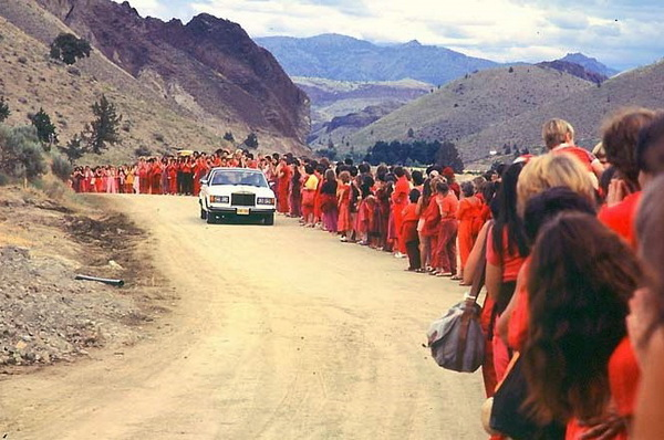 Osho drive-by 1982