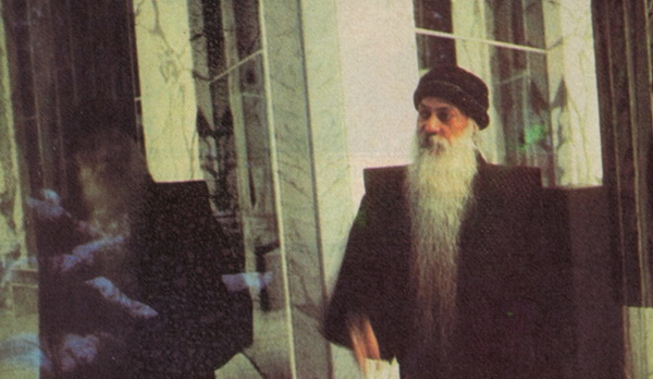 Osho in the Samadhi