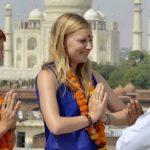 Westerners greet with Namaste