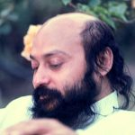 Osho on terrace 2