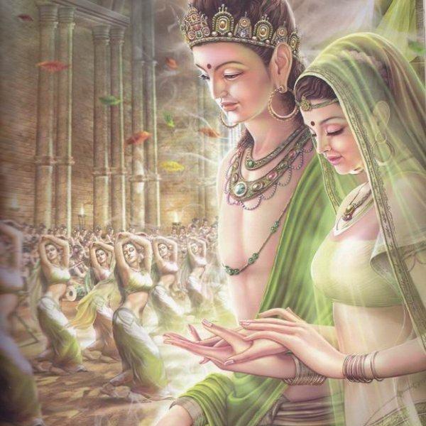 Siddhartha-marries-Yashodhara