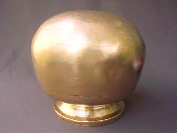 Upside-down pot
