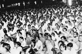 Cross Maidan Bombay. Geeta Lecture, 1972