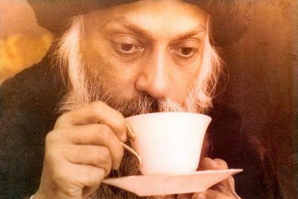 Osho and tea
