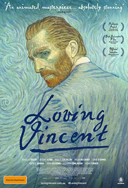 Loving Vincent DVD cover