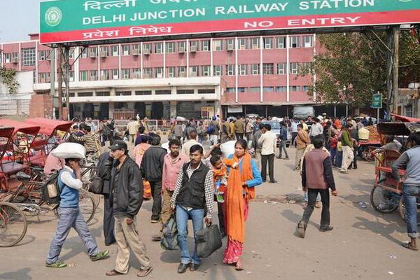 Delhi Railway Junction