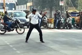 Traffic cop Indore