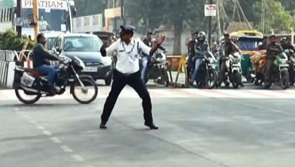 Traffic cop Indore