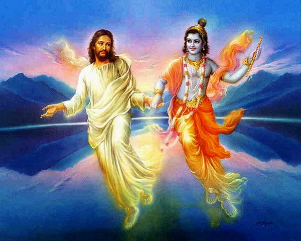 Jesus and Krishna