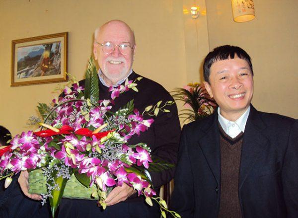 Shakyamuni with Mr. Viet