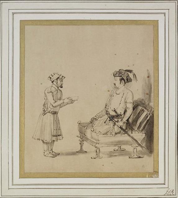 Drawing of Jahangir1