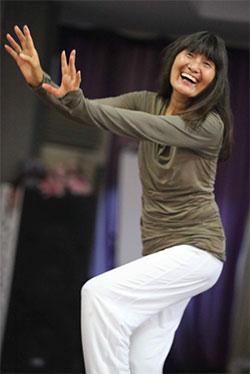 Meera dancing