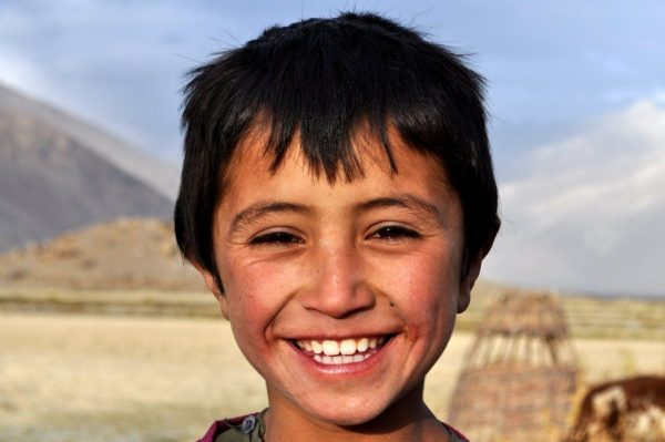 Eight-year-old Ahmad Reshad is a student. He is from a prosperous family which owns and runs a local guesthouse. Unlike many other children in Wakhan, Ahmad doesn't work on the farm after school.