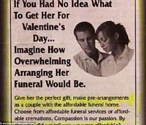 Rather morbid, isn't it?