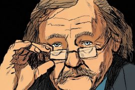 Peter Sloterdijk drawing Feat