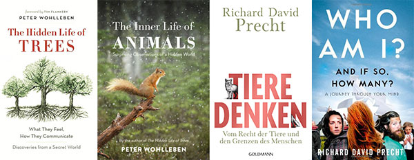 books on animals and trees