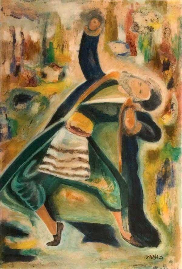 Dancing Hassid