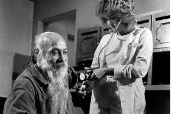 Osho in jail with nurse