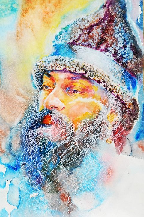 040 Portrait of Osho by Arhat 5