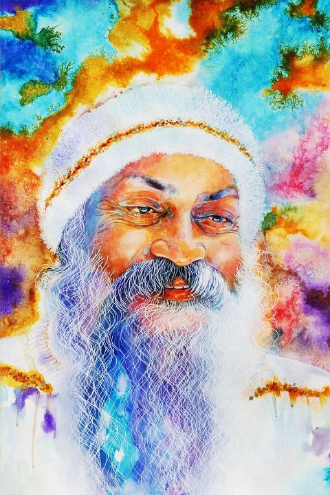050 Portrait of Osho by Arhat 3
