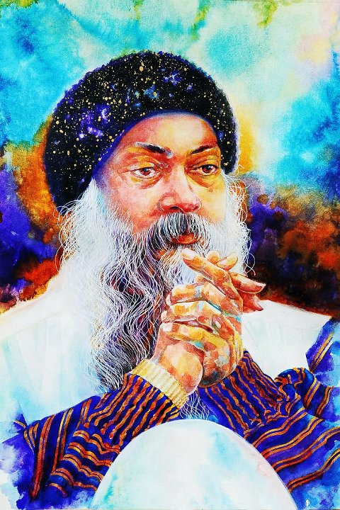 070 Portrait of Osho by Arhat 6