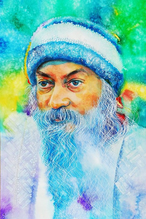 100 Portrait of Osho by Arhat 2