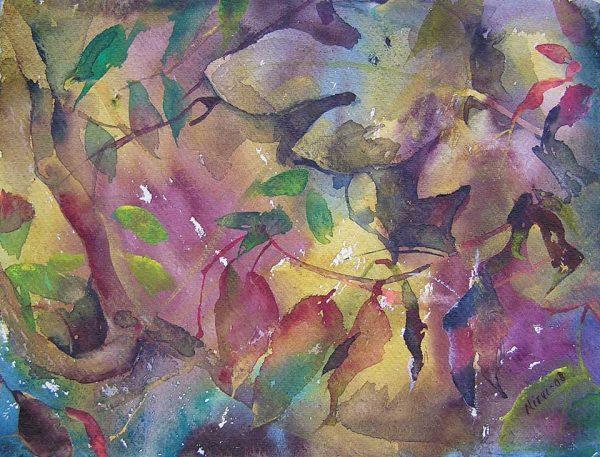 Toscana, 30 x 23 cm, Watercolour