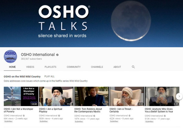 Osho YouTube