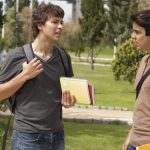 Two teenagers