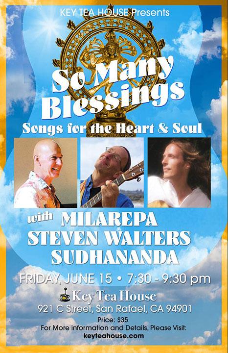 Tea House Concert, San Rafael, California, June 15