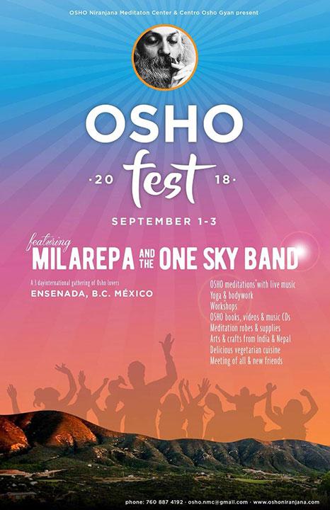 OshoFest, Mexico, Sept 1