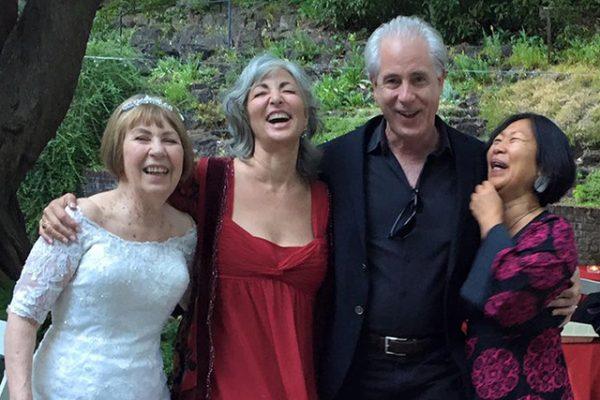 At Roshani's wedding, summer 2015