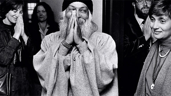Osho looking at Sheela