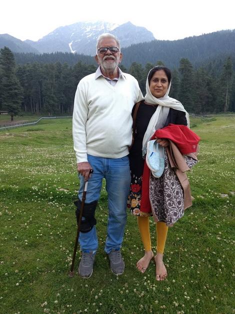 Ageh Bharti and Anupama