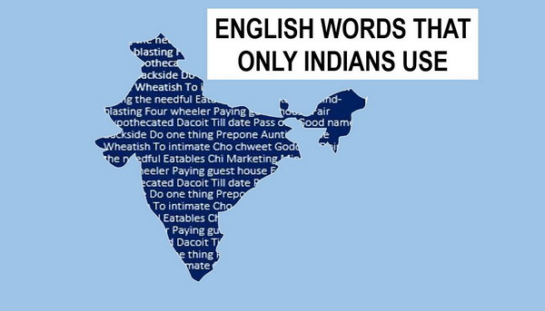 English words used by Indians
