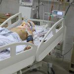 In a coma
