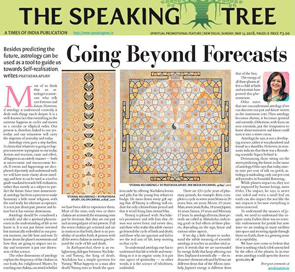 Speaking Tree May 13, 2018