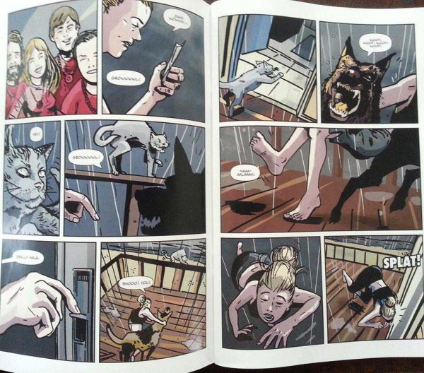 'Nirvana Road' - graphic novel version - promo copy