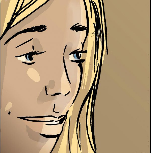 'Nirvana Road' - graphic novel version - Jennifer